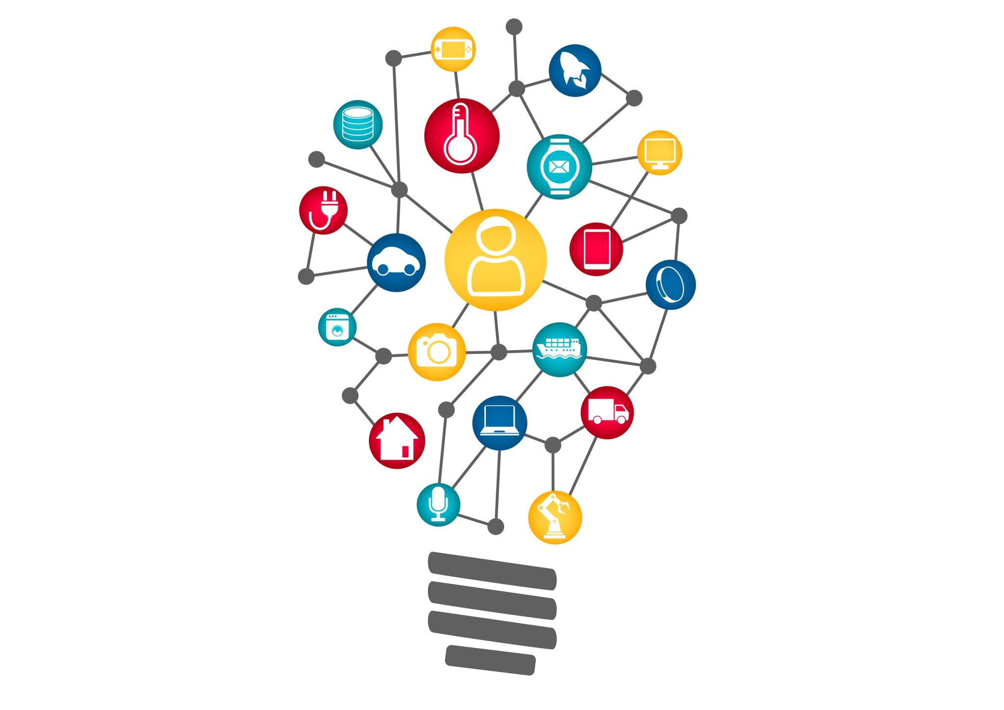 Light bulb with learning images